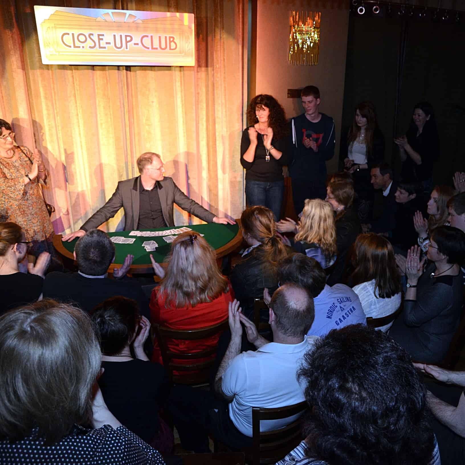 Zaubershows im Theater Kleinkunst Leipzig Sachsen
